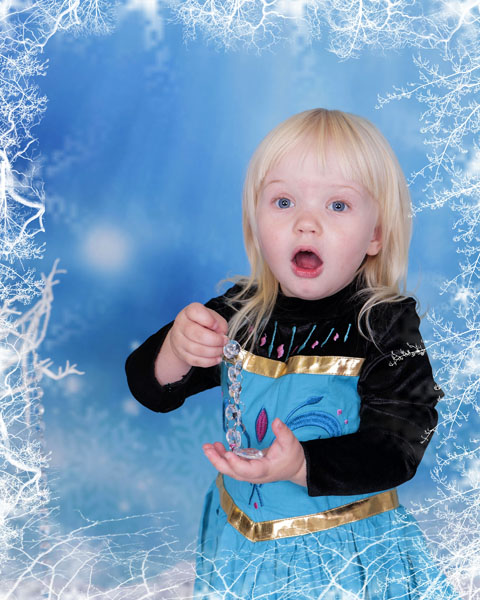 Frozen Themed Photoshoot Newcastle, Village Photography Hebburn