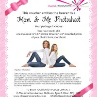 Mother & Daughter Gift Voucher, Village Photography, Newcastle