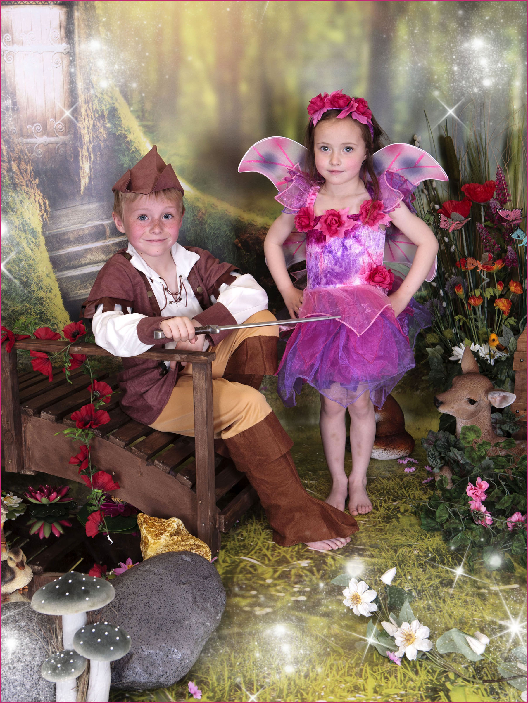 Fairy Photography Newcastle, Finley & Lily