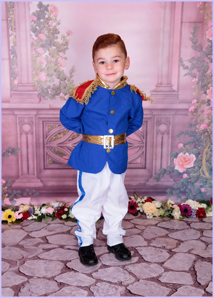 Children's prince photoshoot newcastle