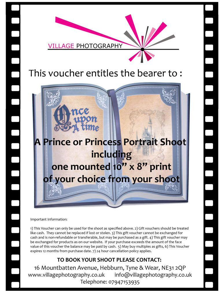 Prince or Princess Gift Voucher