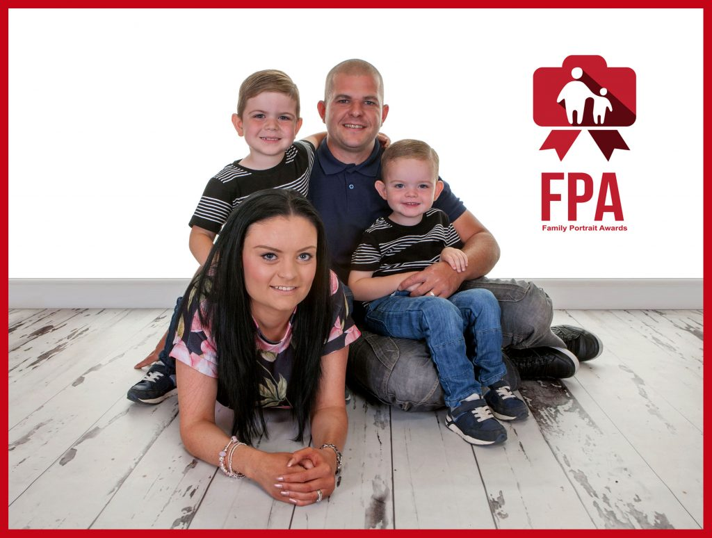 Family Portrait Awards, Village Photography, Newcastle.