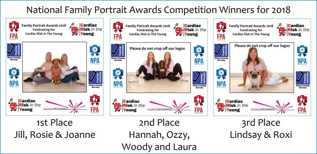 Family Portrait Awards, Village Photography Newcastle